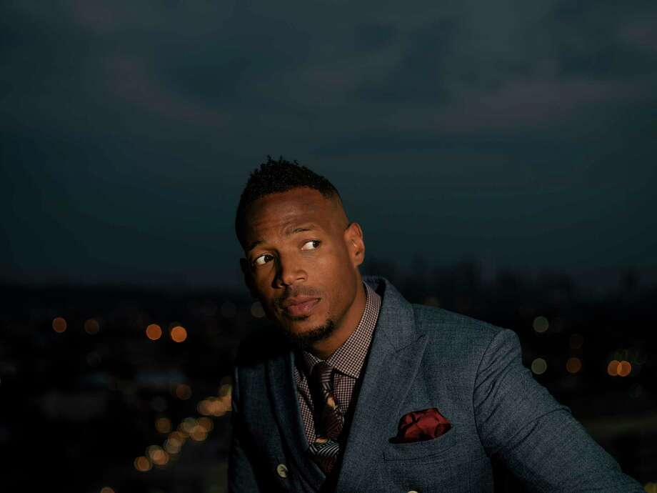 "Comedian Marlon Wayans in Los Angeles, Aug. 1, 2017. In his new NBC sitcom, ""Marlon,"" Wayans plays a father committed to co-parenting his two children with his former wife, from whom he canOt quite detach. (Brinson+Banks/The New York Times)--  PART OF A COLLECTION OF STAND-ALONE PHOTOS FOR USE AS DESIRED IN YEAREND STORIES AND RECAPS OF 2017 -- ORG XMIT: NYT19 Photo: BRINSON+BANKS / NYTNS"