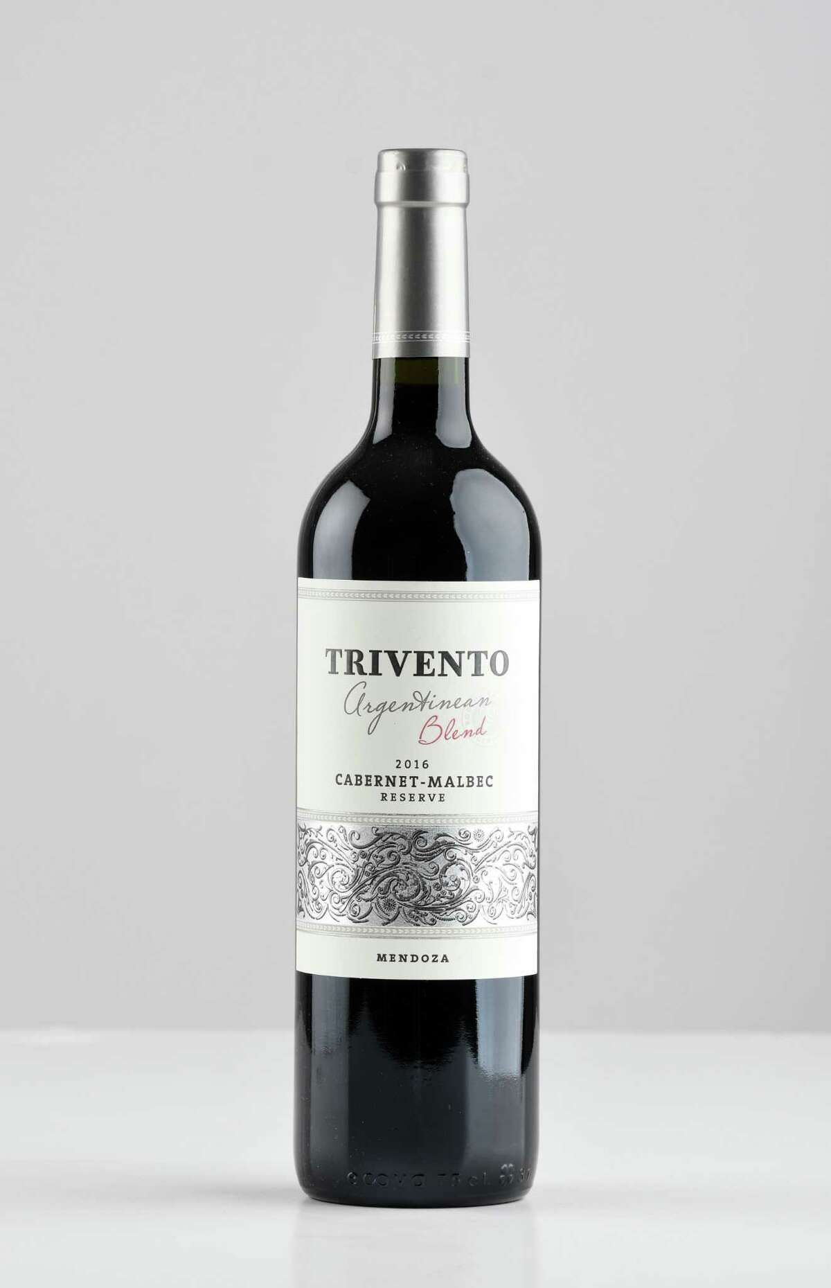 Trivento blend, cabernet-malbec on Thursday, April 26, 2018, at the Times Union in Colonie, N.Y. (Will Waldron/Times Union)