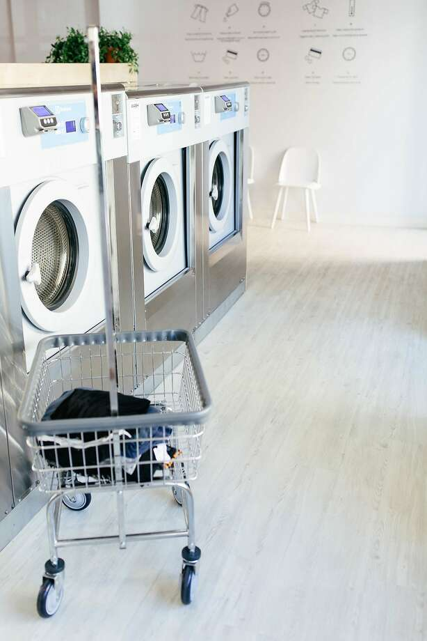Since opening in the Mission in 2017, Laundré took it upon itself to elevate the dated Laundromat by combining a cafe serving usual suspects (chia pudding, avocado toast) with a fleet of modern washers and dryers. It announced Monday that its café will close following community controversy and high utility prices. Photo: Gina Foti