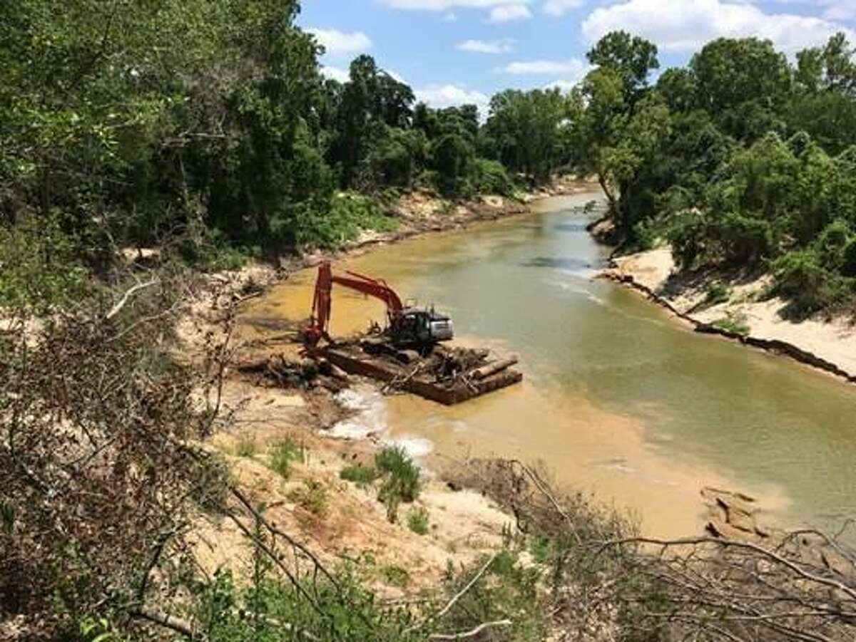 Following Hurricane Harvey, the Harris County Flood Control District should its complete debris removal project along Buffalo Bayou in late July.