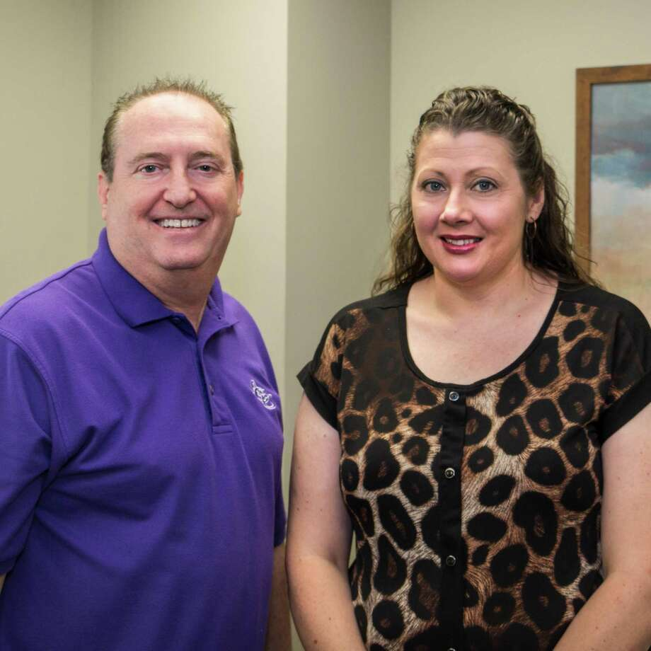 Pictured are Dr. Doug Peters, Senior Minister of Grace Crossing Church, and Nikki Villarreal, Ministry Assistant. Grace Crossing Church has recently partnered with Shield Bearer, a nonprofit whose mission is to provide hope and healing through  counseling services. Photo: Courtesy Photo / Courtesy Photo