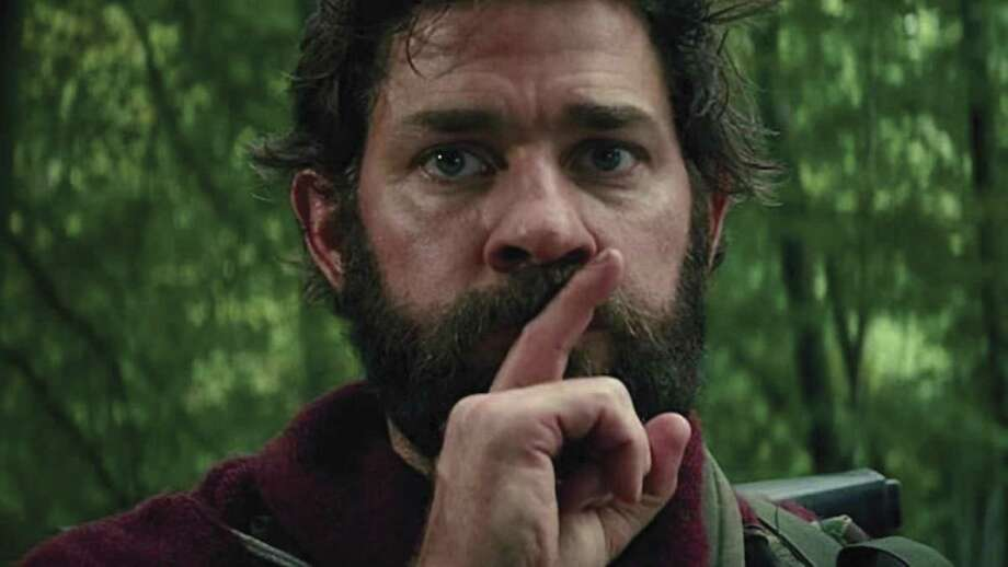 """John Krasinski writes, directs and stars in """"A Quiet Place,"""" new horror film about a family trying to survive and outlast an alien invasion."""