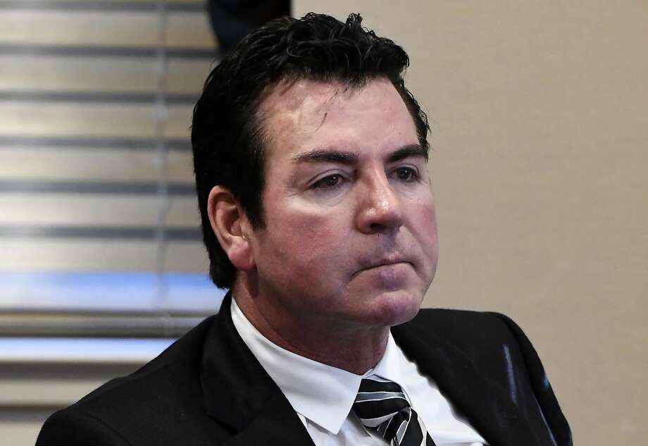 Papa John's founder and CEO John Schnatter attends a meeting in Louisville, Ky. Schnatter is apologizing after reportedly using a racial slur during a conference call in May 2018. The apology Wednesday, July 11, 2018, comes after Forbes cited an anonymous source saying the pizza chain's marketing firm broke ties with the company afterward. Photo: Timothy D. Easley, Associated Press