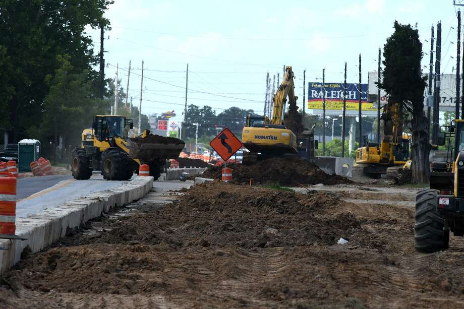 Road construction on Hufsmith-Kohrville Road between Mahaffey and FM 2920 continues on June 27, 2018. (Jerry Baker/For the Chronicle) Photo: Jerry Baker, Freelance / For The Chronicle / Freelance