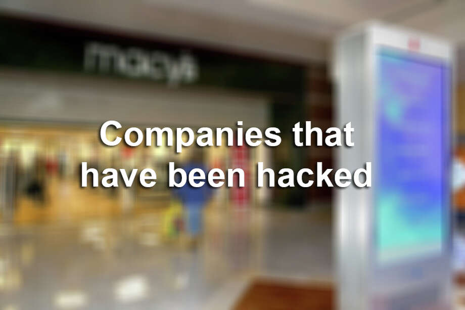 A number of companies have been hacked in recent times. Click through for a look at some of the most high-profile names affected by major customer data breaches. Photo: Liz Hafalia/The Chronicle / online_yes