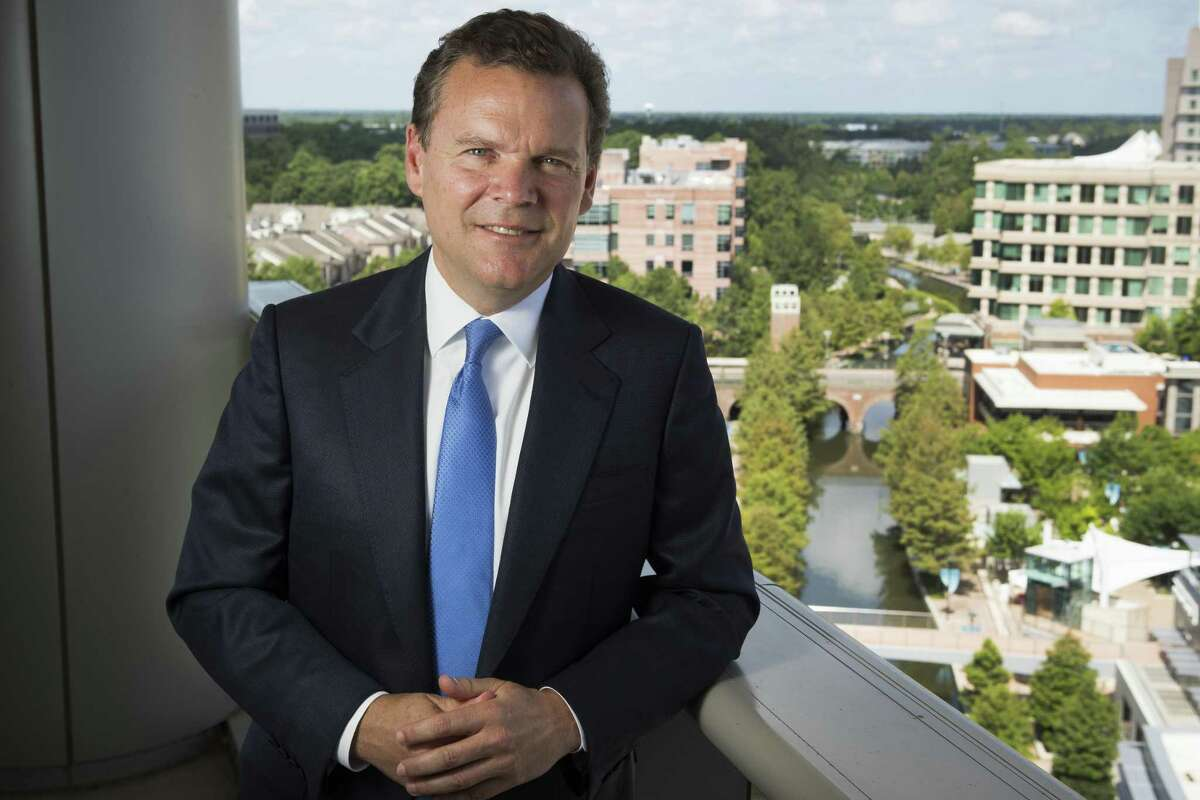Peter Huntsman, CEO of Huntsman Corporation, poses for a photo on Thursday, July 5, 2018, in The Woodlands. NEXT: See recent earnings from Houston-area energy companies.