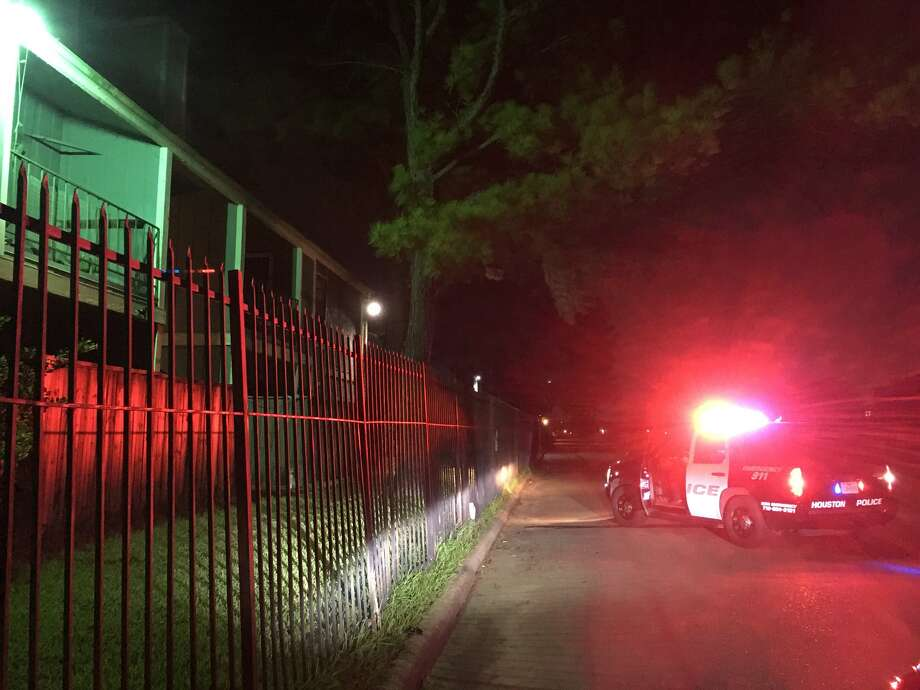 A man is in the hospital Wednesday night after being shot in north Houston, police say. Photo: Houston Police Department