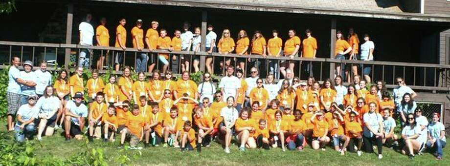 Pictured are all of the local campers who recently participated in the Thumb Area 4-H Camp at Camp Cavell in Lexington. (Submitted Photo)