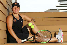 Edwardsville's Natalie Karibian is the 2017 Telegraph Girls Tennis Player of the Year. The No. 1 player in the Tigers' lineup qualified for state for a third time last season as a junior.