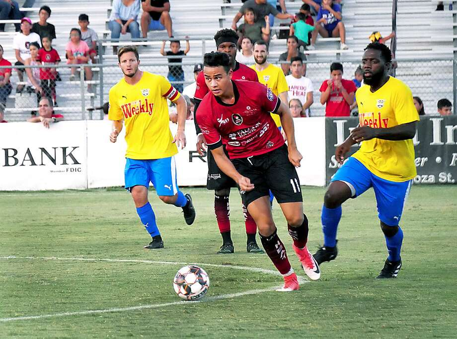 Returning midfielder Gabriel Rodriguez is ready to help the Heat reach new heights this season. Photo: Cuate Santos /Laredo Morning Times / Laredo Morning Times