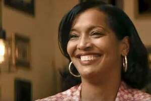 """A screen grab from """"Truth to Power,"""" a political ad released by Jahana Hayes on Thursday."""