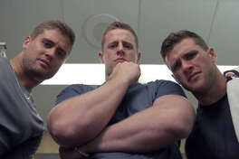 J.J. Watt and his brothers, T.J. Watt and Derek Watt, educate athletes about working out in the heat and the importance of hydration and heat safety in new public service announcements for Gatorade.