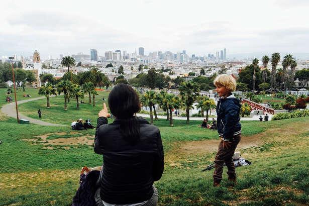 Dolores Park, San Francisco kids