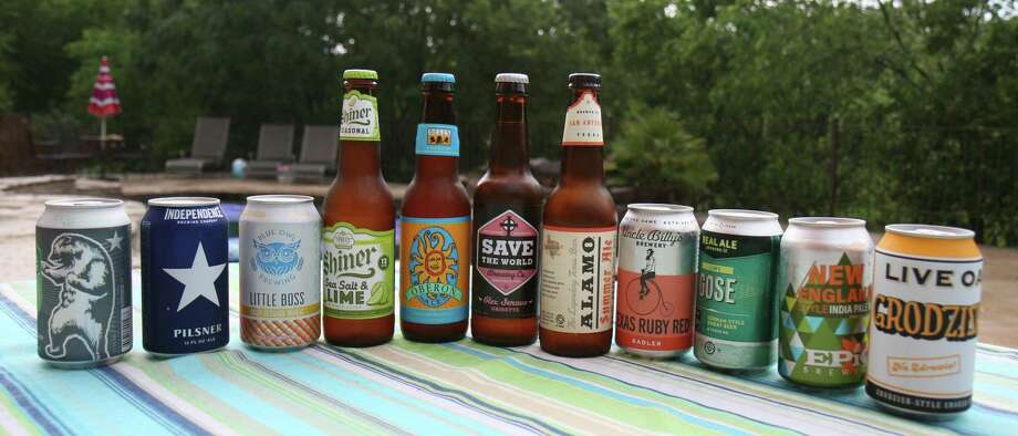 Beers for the heat of the summer don't have to be just summer ales. There are many styles of beer that are refreshing on a scorching day. Photo: Markus Haas /San Antonio Express-News / San Antonio Express-News