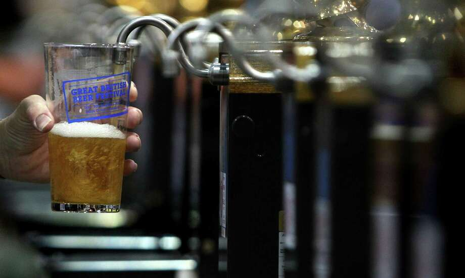 A pint of beer at the Great British Beer Festival. Photo: Cate Gillon / Getty Images / Getty Images Europe