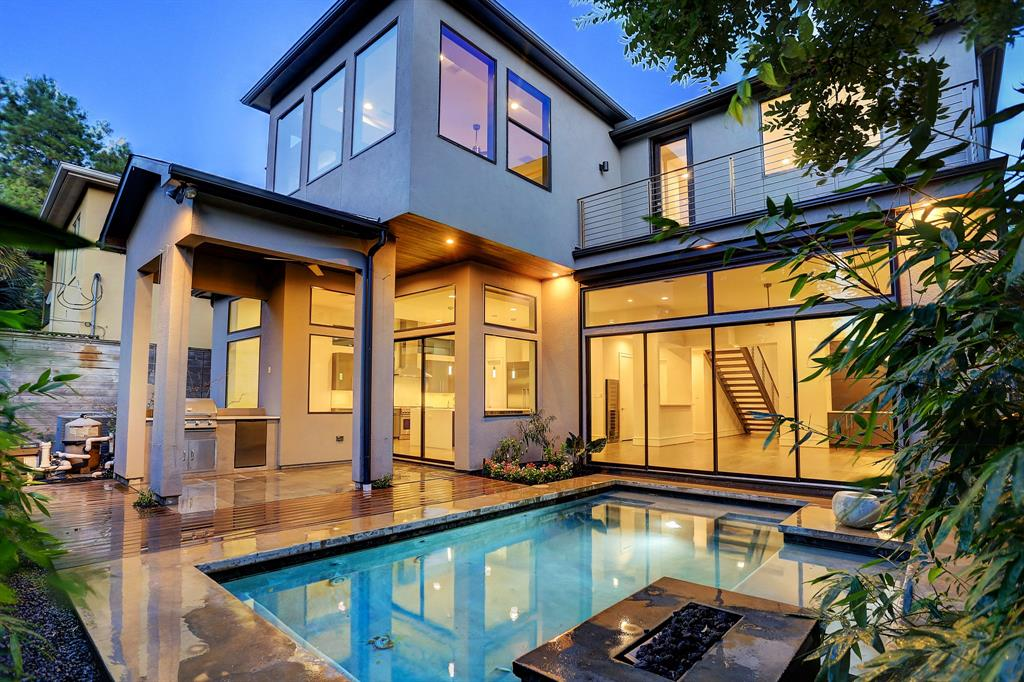 Contemporary Home For Sale In Upper Kirby Stuns With Pool