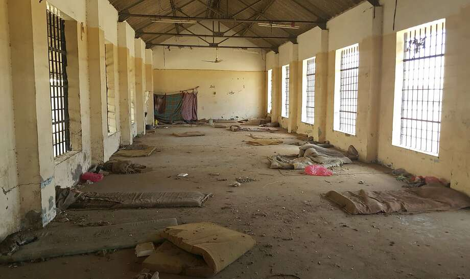 A cell remains empty in the public section of a prison in Aden. A separate wing is part of a network of secret facilities in southern Yemen run my Emiratis. Photo: Maad El Zikry / Associated Press 2017