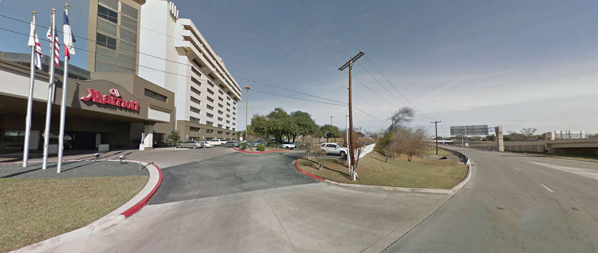Plutonium, radioactive cesium and several radiation detectors were stolen from a rental car parked in this lot outside of a San Antonio hotel. Idaho National Laboratory employees described the lot to Energy Department overseers as a site with