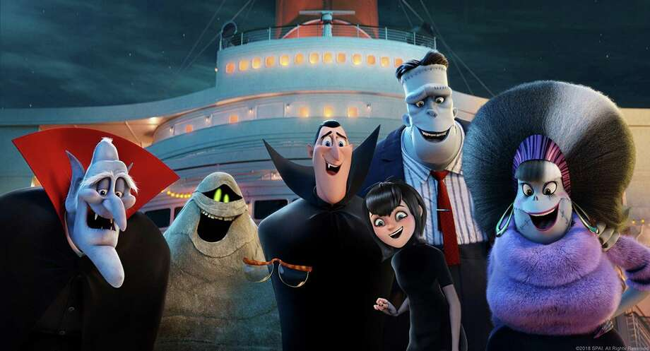 """Hotel Transylvania 3"" has voices including Mel Brooks, Keegan-Michael Key and Fran Drescher. Photo: Sony Pictures / TNS"