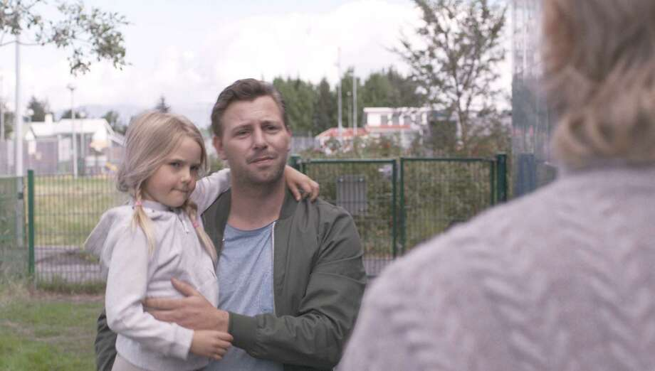 "Steinþór Hróar Steinþórsson plays Atli, a loose cannon who is being told he can't see his young daughter, in ""Under the Tree."" Photo: Magnolia Pictures"