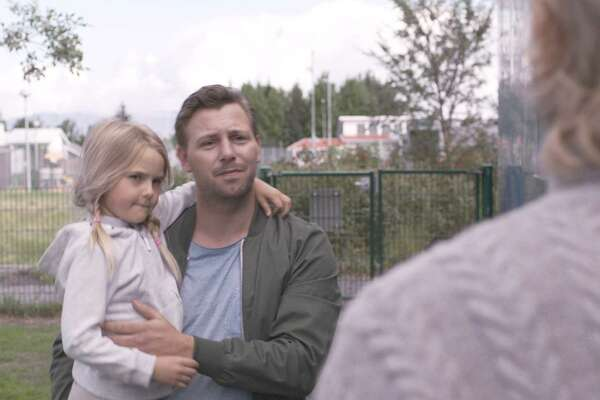"""Steinþór Hróar Steinþórsson plays Atli, a loose cannon who is being told he can't see his young daughter, in """"Under the Tree."""""""
