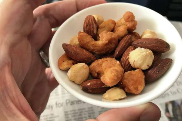 Airline snack mix minus the peanuts. Have an opinion?