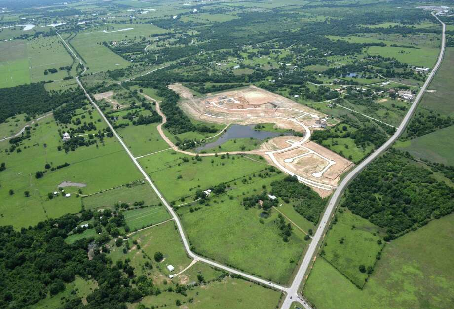 An aerial image of the Fulshear area.