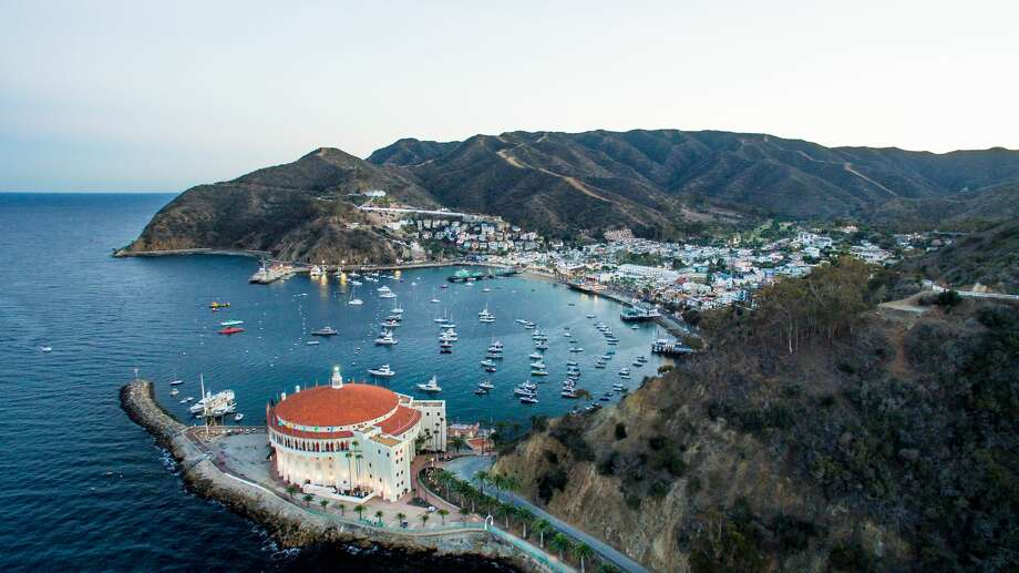 A unique look at the Catalina's Avalon harbor and it's famous landmark, the Casino. Photo: Matthew Micah Wright/Getty Images/Lonely Planet Images