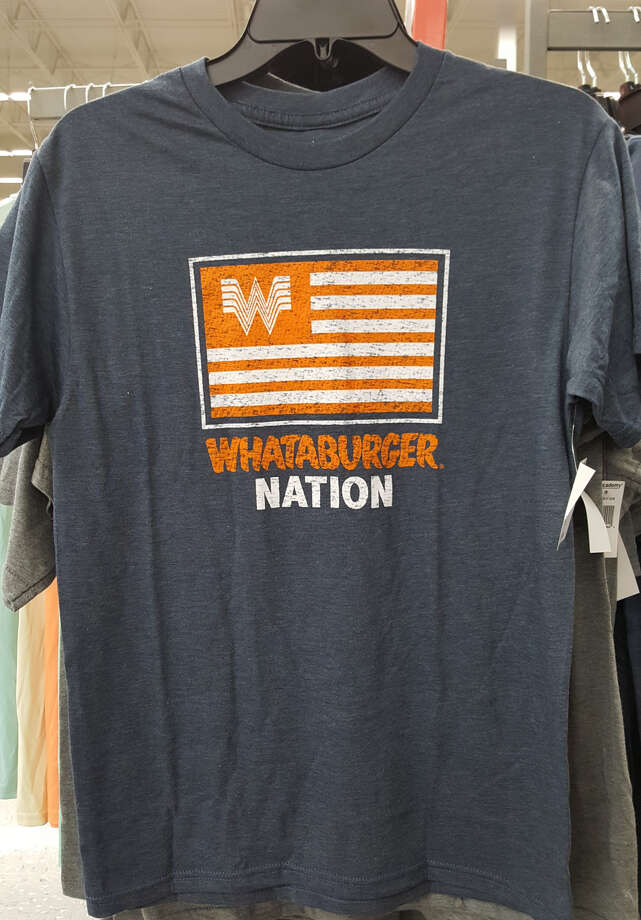 These Whataburger shirts are selling out at Houston Academy Sports and Outdoors locations. Photo: Courtesy Of Academy Sports And Outdoors