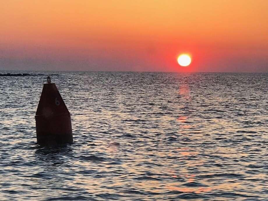 Sunrise off the coast of Atlantic City. (Provided)