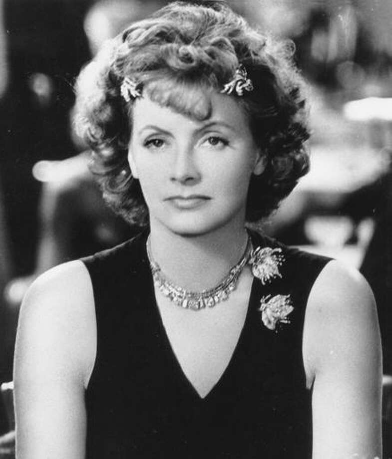 "Greta Garbo in her last movie, ""Two-Faced Woman,"" which lost a lot in gaining a scene. Photo: MGM 1941"