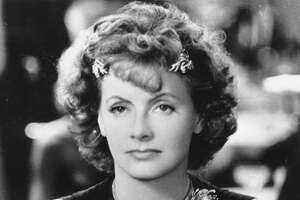 """Greta Garbo in her last movie, """"Two-Faced Woman,"""" which lost a lot in gaining a scene."""
