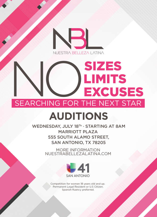 Nuestra Belleza Latina is back and scouting San Antonio women to compete in the televised beauty pageant. Photo: Courtesy, Univision