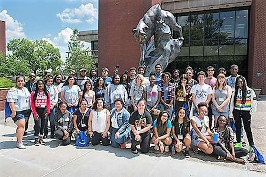 The SIUE Office of Admissions hosted 50 high school students on campus through the IACAC Camp College program July 10-13. Photo:       For The Telegraph
