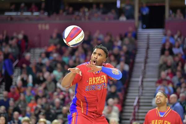 Thunder Law and the Harlem Globetrotters are to face off against the Washington Generals July 15 at the Berry Center in Cypress.