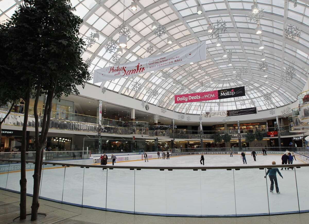 West Edmonton Mall A general view of the skating rink inside the West Edmonton Mall photographed on November 30, 2011 in Edmonton, Alberta, Canada. (Photo by Bruce Bennett/Getty Images)