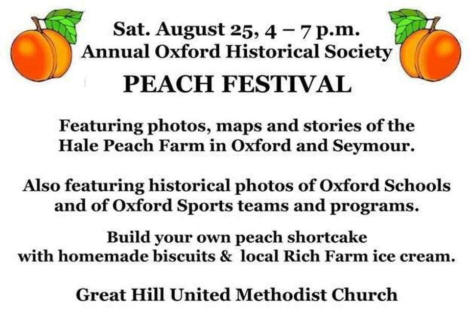 Information on the upcoming Peach Festival Photo: /