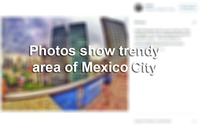 Keep clicking to see the trendy upcoming area of Mexico City often called the Rodeo Drive of Mexico.