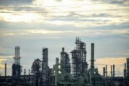 The Marathon Petroleum Corp. Garyville refinery stands in Garyville, Louisiana, U.S., on Friday, May 25, 2018. Although Donald Trump garnered more votes from Louisianans in 2016 than any other presidential candidate in history, his promise to put America first targets the heart of its commerce. Louisiana's reliance on trade makes it a unique microcosm of how the tariff battle will affect America. Photographer: Callaghan O'Hare/Bloomberg