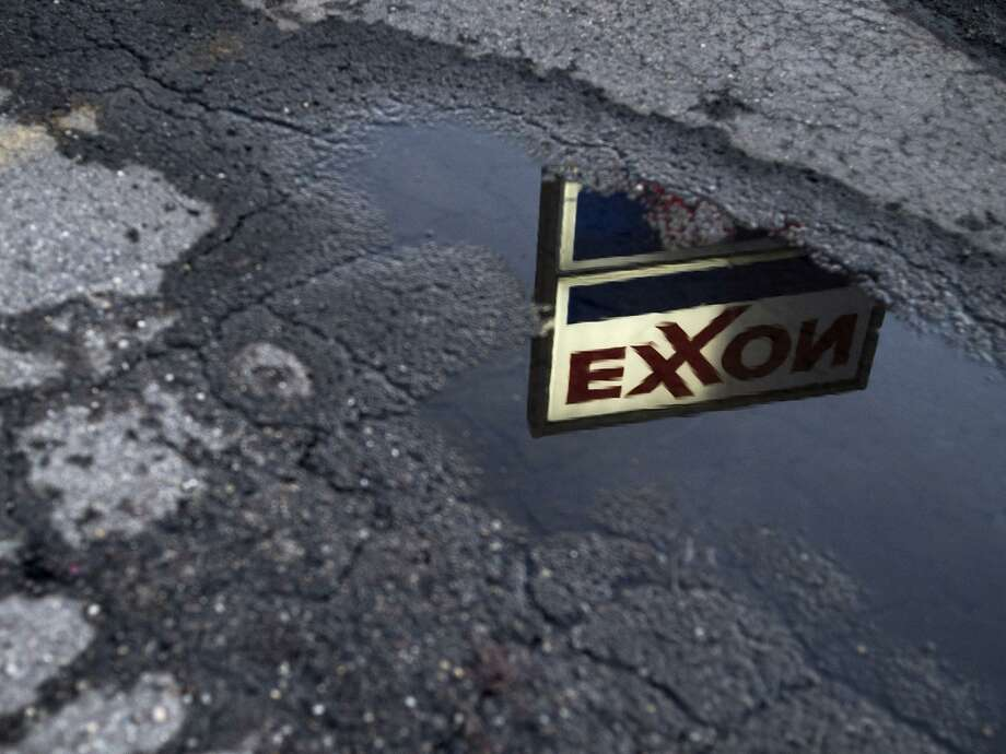 Lawsuits are seeking to get Big Oil companies like Exxon Mobil to pay the costs of climate change. Photo: Bloomberg / Bloomberg / 2018 Bloomberg Finance LP