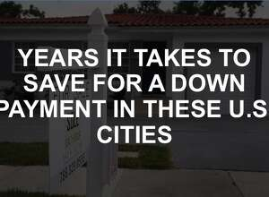 Click through the slideshow to see how long it would take to save for a home downpayment, depending on the city.