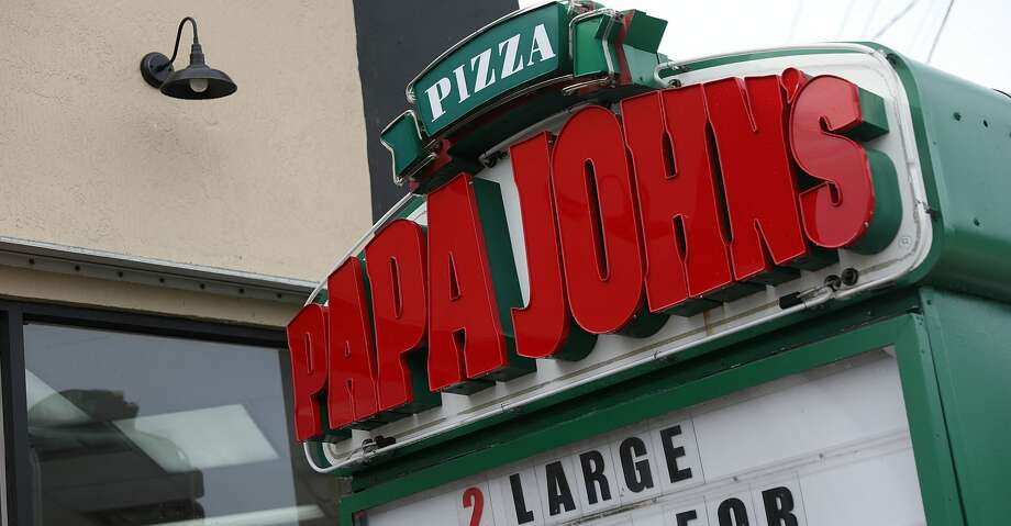 MIAMI, FL - JULY 11:  A Papa John's restaurant is seen on July 11, 2018 in Miami, Florida. The founder of Papa John's pizza,  John Schnatter, apologized Wednesday for using the N-word on a conference call in May.  (Photo by Joe Raedle/Getty Images) Photo: Joe Raedle/Getty Images