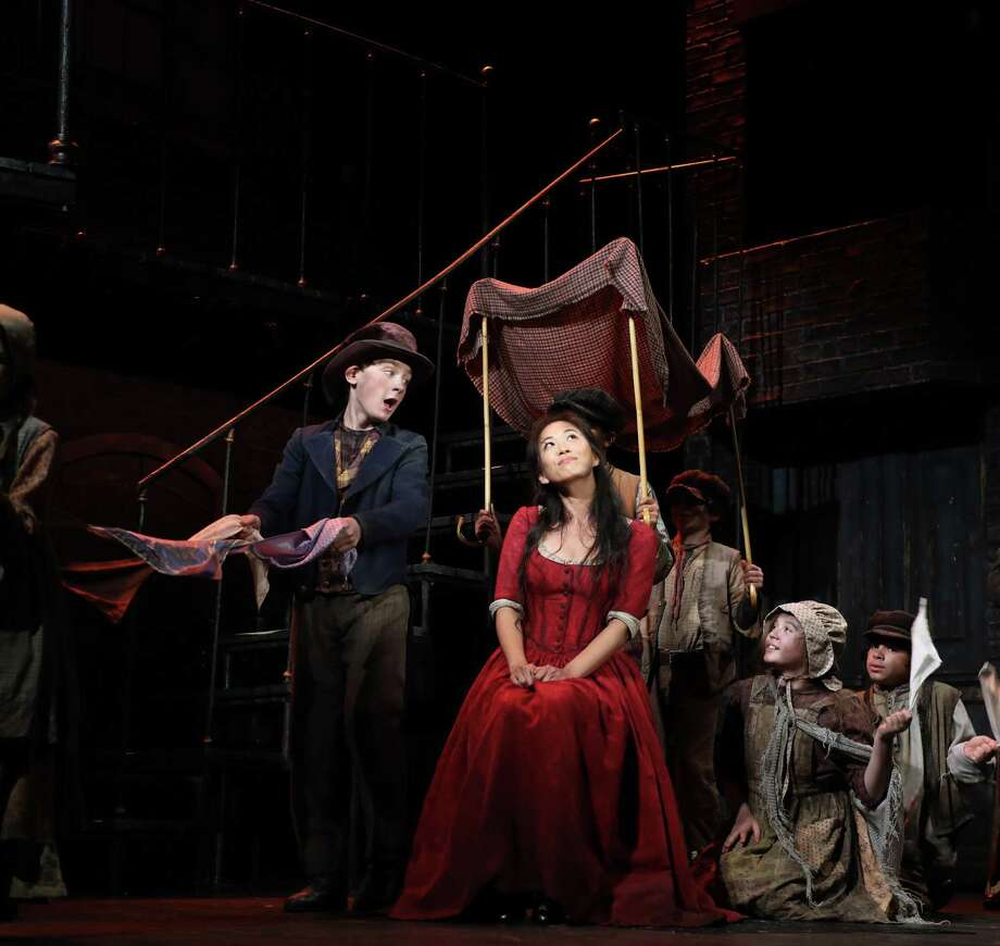Gavin Swartz and EJ Zimmerman in a scene from the musical. Photo: Courtesy Of Goodspeed / (C)2018 Diane Sobolewski, Goodspeed Musicals
