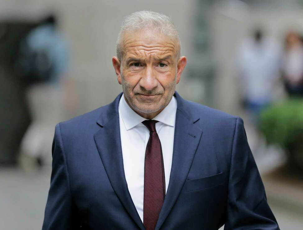 Alain Kaloyeros, a former president of the State University of New York's Polytechnic Institute, arrives to federal court in New York, Jurors are deliberating in the case against the former state university president and four developers charged with bid-rigging in Gov. Andrew Cuomo's