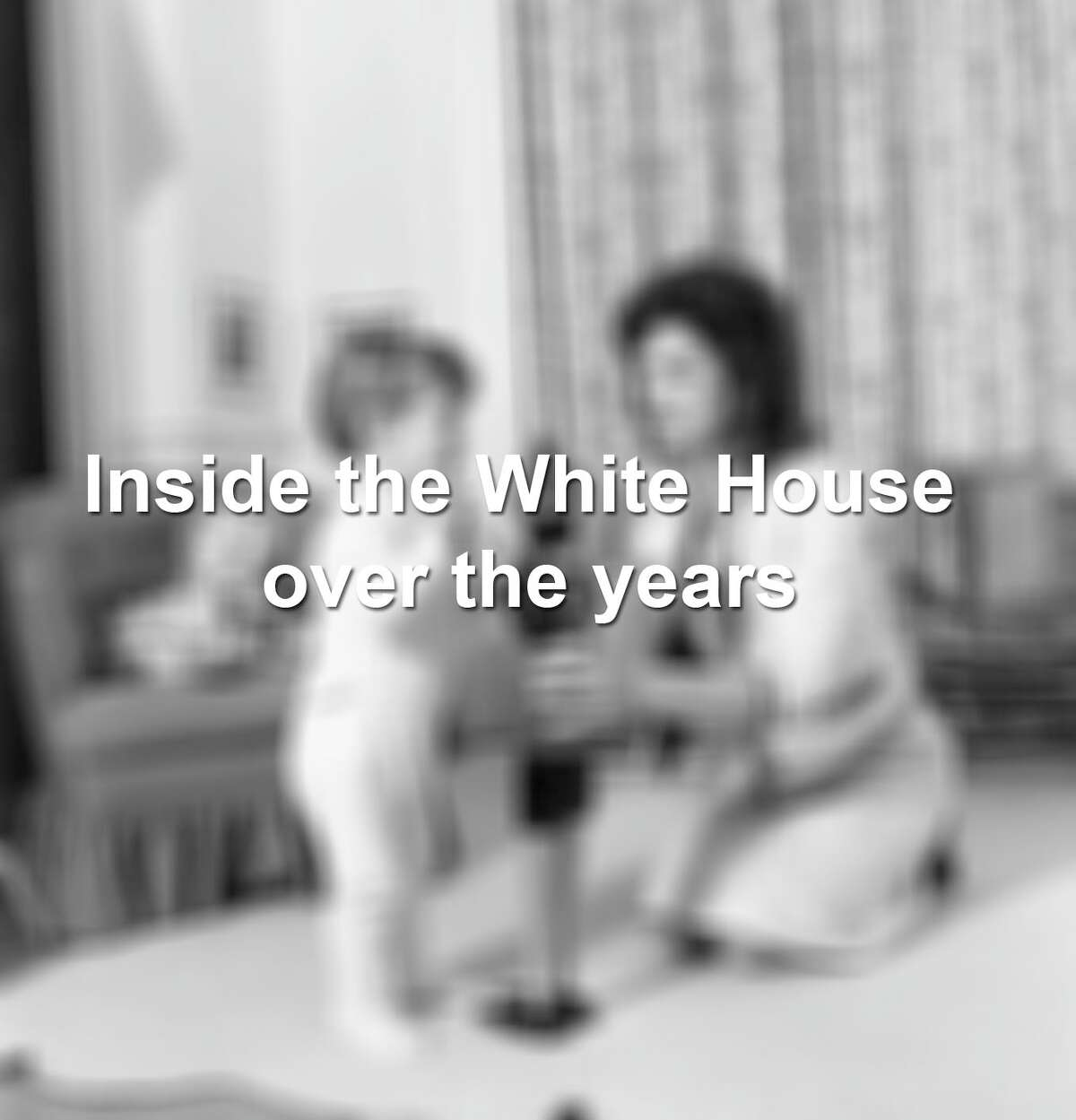 Keep scrolling to see what the White House has looked like over the years.