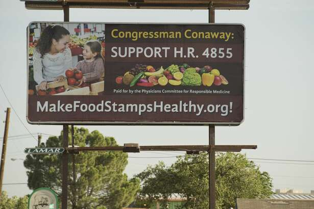 New billboard seen 07/13/18 on the 1500 block of Rankin Hwy encouraging Rep. Conaway to support a bill. Tim Fischer/Reporter-Telegram