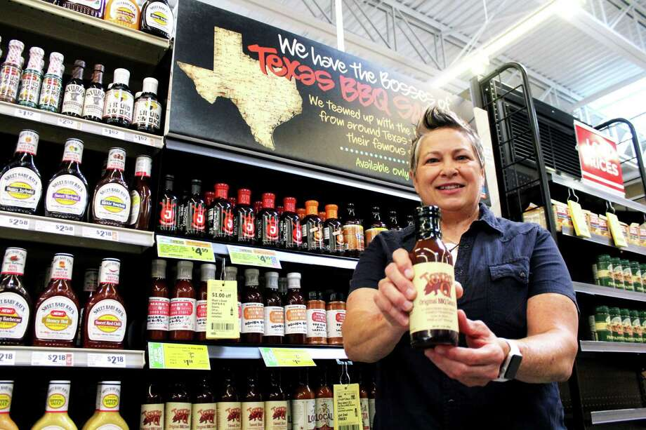 Kingwood Resident Sloan Rinaldi, a fourth generation grill master, created the Texas Q sauce and has been on H-E-B shelves all over Texas since 2016. Photo: Kaila Contreras