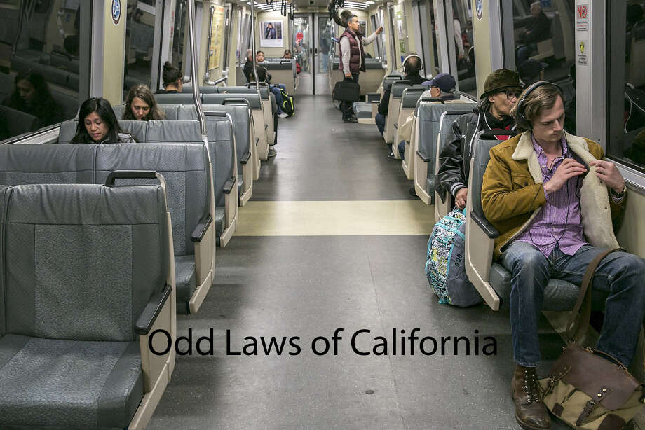 California has instituted some very, very specific laws over the years. Here are a few of the most interesting. Photo: Santiago Mejia/The Chronicle