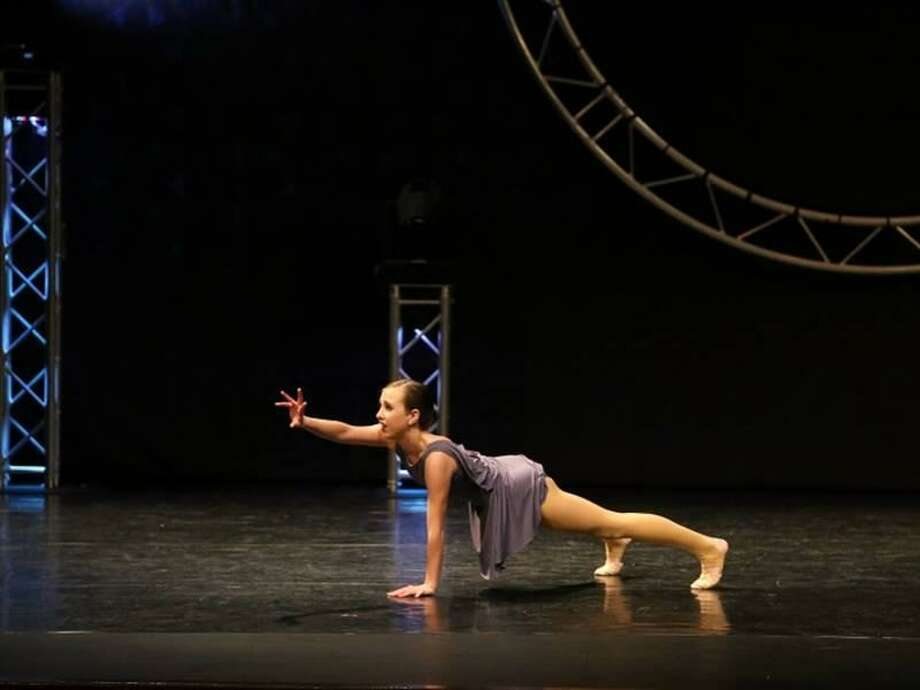 Grace Pendleton, a 15-year-old Clinton resident and student at The Dance Corner of Killingworth, was named Starpower 2018 Intermediate Senior Champion at the Starpower National Championships June 27 at Mohegan Sun in Uncasville. Photo: Contributed Photo