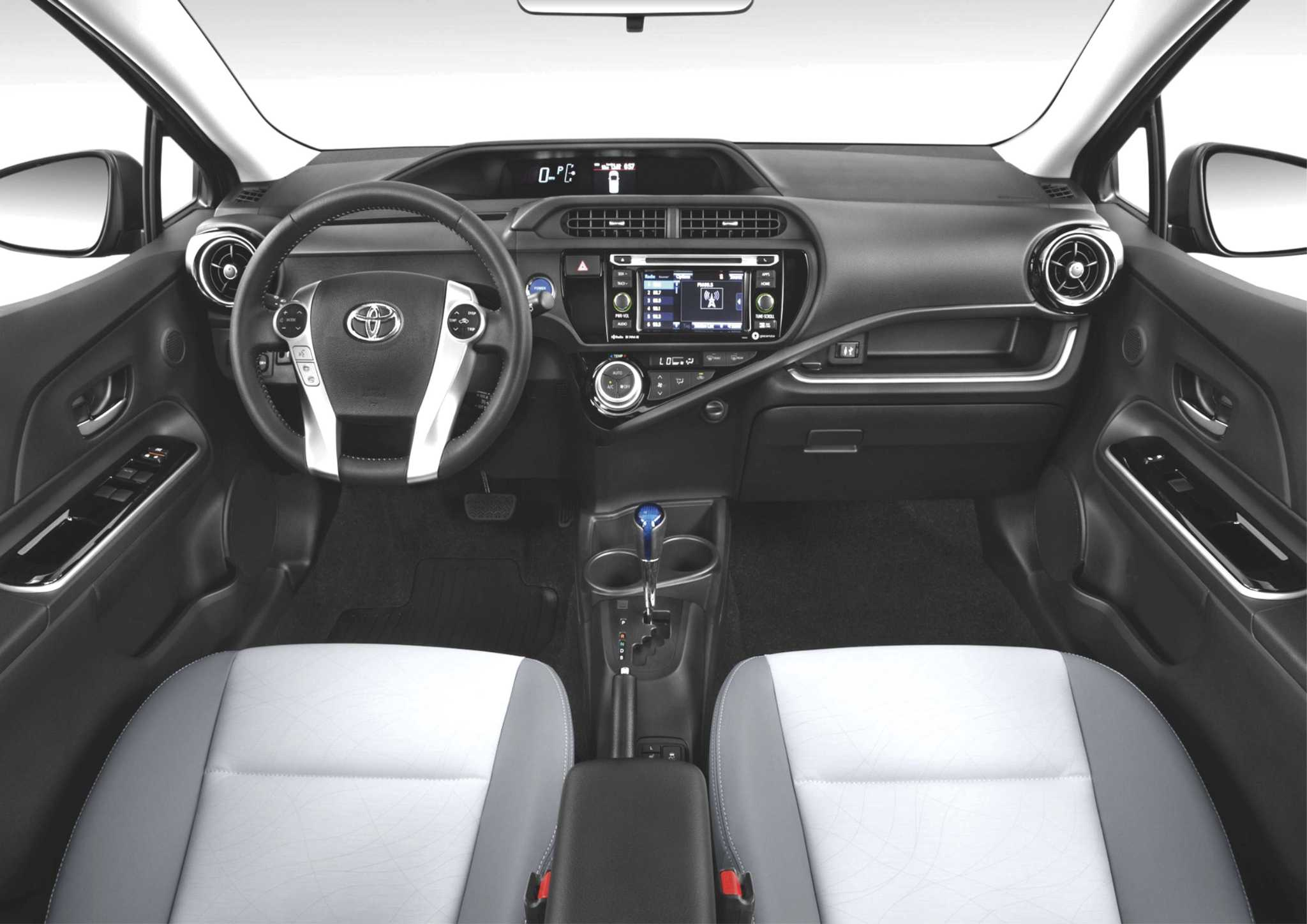 Toyota updates its Prius C hybrid for model year 2018
